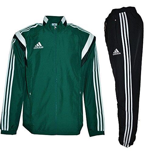 Adidas performance-survêtement Calcio Ref UEFA prensation segue g90432, unisex, verde, M