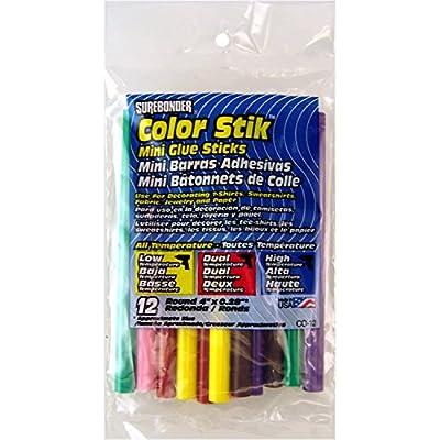 Surebonder Mini All Temperature Colored Glue Stiks