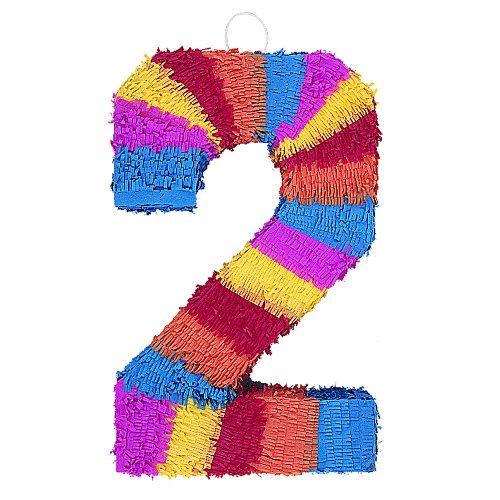 """Number 2 Pinata, 22"""" X 14"""""""