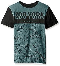 Zoo York Big Boys' Zoo Hybrid Crew Short Sleeve, Mint, Large