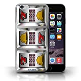 STUFF4 Phone Case Cover for iPhone 6Plus 55 Bars Design Slot Machine Collection