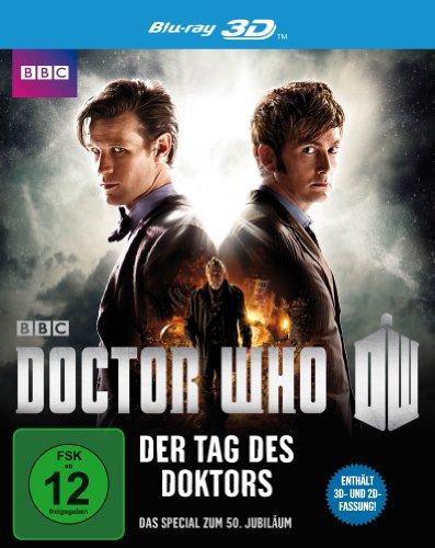 Doctor Who - Der Tag des Doktors (inkl. 2D-Version) [3D Blu-ray]