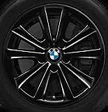 Original BMW Alufelge 5er F10-F11-LCI V-Speiche 236 schwarz in 17