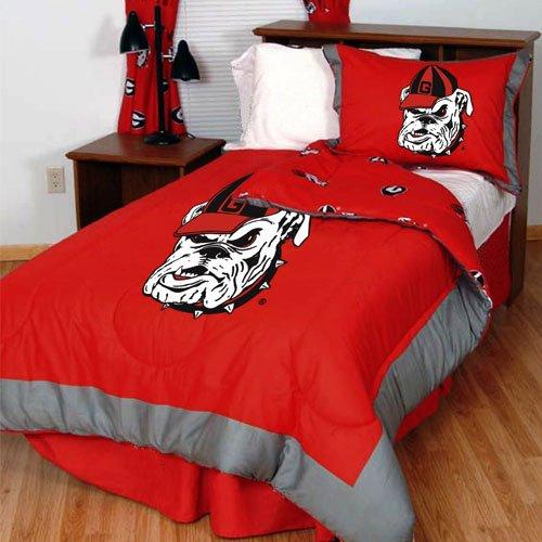 College Covers Georgia Bulldogs Reversible Comforter Set, Full (Kohls Bulldog compare prices)