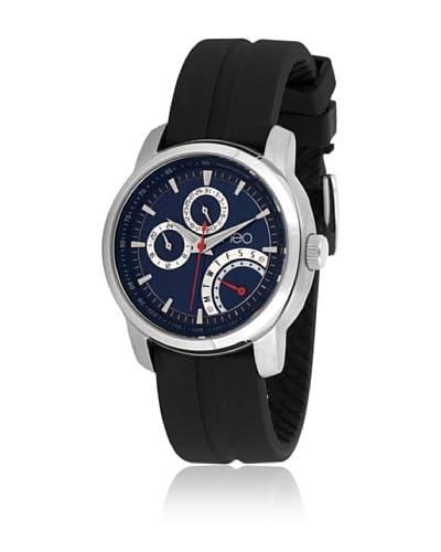 Neo Reloj con movimiento japonés 15854014 Negro 42 mm