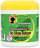 Jamaican Mango & Lime Transition Natural No More Relaxer Daily Creme, 6 Ounce