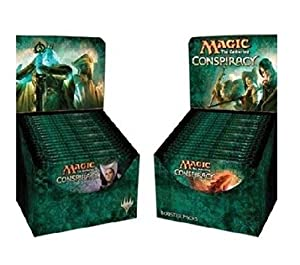 Conspiracy Booster Draft Pod Set - Four (4) Player Multiplayer-Focused Kit: Magic: the Gathering: 18 Booster Packs (1/2 Box Split)