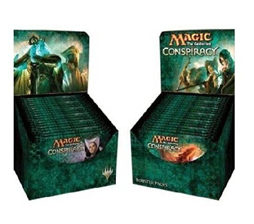 Conspiracy Booster Draft Pod Set - Four (4) Player Multiplayer-Focused Kit: Magic: The Gathering: 18 Booster Packs (1/2 Box Split) front-396665