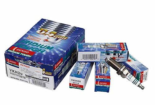 MERCEDES-BENZ-KLASA-C-W203-C-180-Kompressor-203046-Bj-200205-200702-Motor-1796-ccm3-4-Zndkerzen-DENSO-VKH20-ein-SET