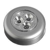 3 LED Light Battery Powered Stick Tap Touch Lamp Light