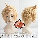 耐熱コスプレウィッグ ファイナルファンタジーXV プロンプト Prompto かつら FFXV、FF15 cos wig