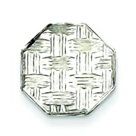 Sterling Silver Square Tie Tac