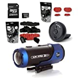 iON AIR PRO WiFi Mount Pack Kit Full HD Sports Action Camcorder + iON Wi-Fi PODZ + iON Mount Pack + iON Adhesive Pack - Board + 16GB Memory Card