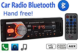 See Car Radio Bluetooth 1 DIN in Dash 12v Sd/usb Aux Ipod Stereo Head Unit Android Details