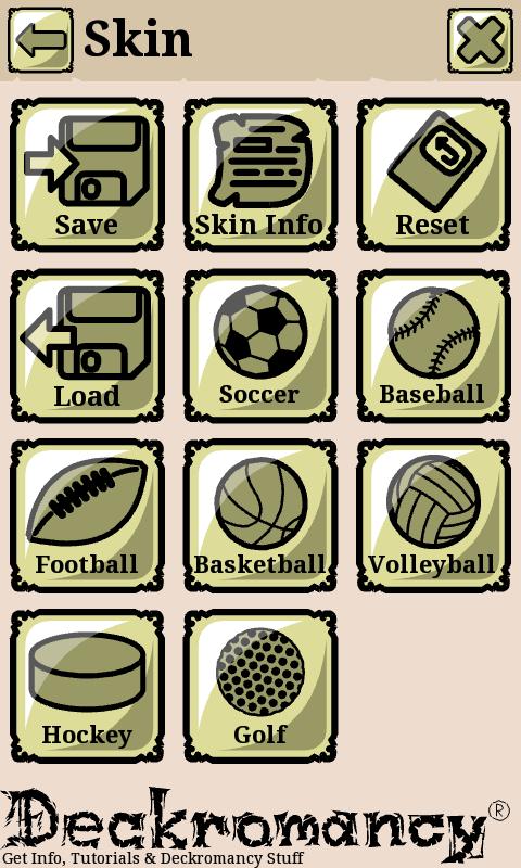 Trading card maker app