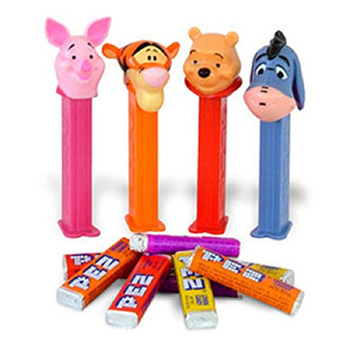 Winnie The Pooh Pez Candy Dispenser Packs 1 Count