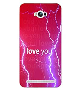 PrintDhaba Quote D-3458 Back Case Cover for ASUS ZENFONE MAX ZC550KL (Multi-Coloured)
