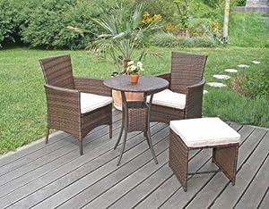 garten garnitur sitzgruppe rom poly rattan. Black Bedroom Furniture Sets. Home Design Ideas