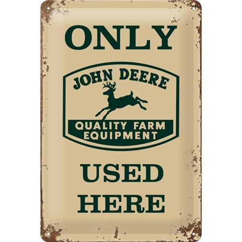 john-deere-na-2030-pt-targhetta-decorativa-in-metallo-con-scritta-only-used-here