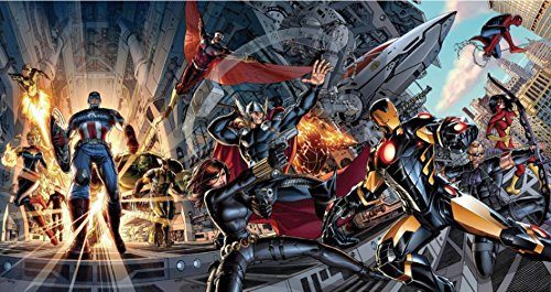 Fashiontopdearls Fashion Cool avengers marvel Comics Superhero Poster HD WALL Decor Custom Art Deco unframed -1096 size (inch):24x45 (Cool Posters Marvel compare prices)