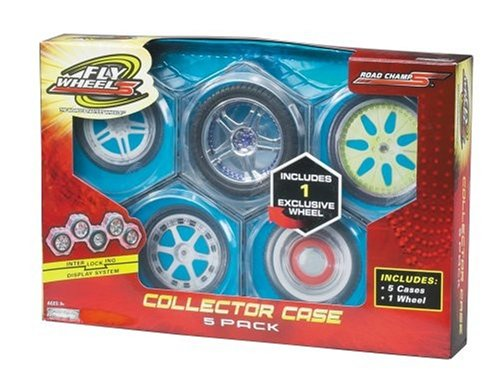 Fly Wheels Collector Case 5 Pack