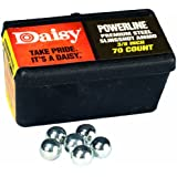 Daisy Outdoor Products Steel Slingshot Ammo - Trapped Blister (Black, 3/8 Inch)