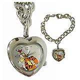 Disney Tigger Heart Shaped Pendant Bracelet Watch Winnie The Pooh Watch