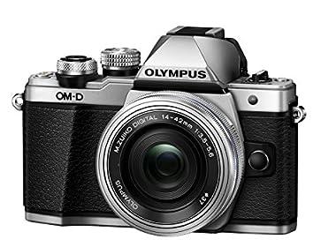 OLYMPUS ミラーレス一眼 OM-D E-M10 MarkII 14-42mm EZレンズキット シルバー