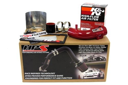 09-15 Toyota Corolla 1.8L HPS Red Shortram Air Intake Kit Short Ram Cool 10 11 12 13 14 by HPS (14 Corolla Intake compare prices)