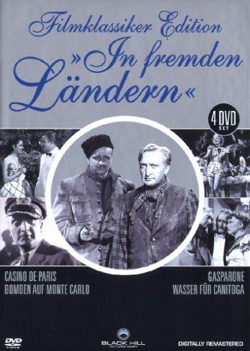 Filmklassiker Edition - In fremden Ländern - 4 DVD Box (Casino De Paris - Gasparone - Bomben auf Monte Carlo - Wasser für Canitoga )