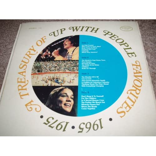 A Treasury Of Up With People 1965 1975 (Double Album Box Set with Music Book featuring Chords, Lyrics and Sheet Music)