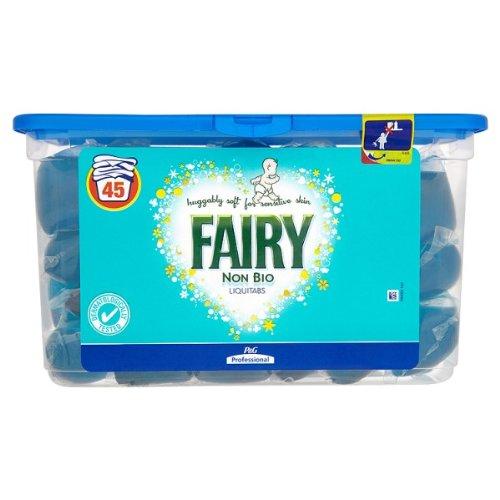 Fairy Non Bio Liquitabs 42 Tabs (3 Pack)
