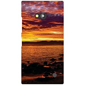 Nokia Lumia 730 Back Cover - Beach Designer Cases