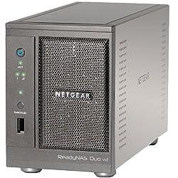 Netgear ReadyNAS Duo RND2000 Network Storage Server - LJ7492