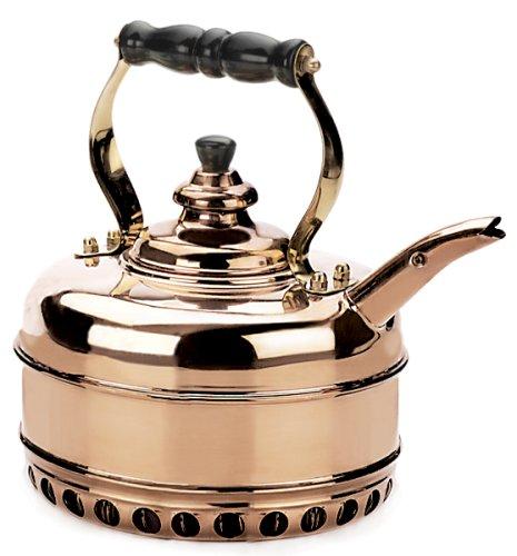 Simplex Heritage 2 Quart Copper Tea Kettle for Gas Stovetops (Simplex Heritage Tea Kettle compare prices)