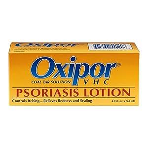 Oxipor VHC Psoriasis Lotion, Coal Tar Solution, 4-Ounce Bottle