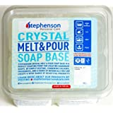 2lb Clear Stephenson Melt and Pour Soap Base (Crystal ST)
