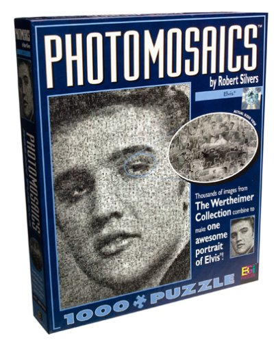 Cheap Buffalo Games Photomosaic Elvis Presley Jigsaw Puzzle 1026pc (B00009XO91)