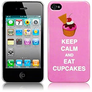 TERRAPIN LUXURY IPHONE 4 / IPHONE 4G CUPCAKE BACK COVER CASE / SHELL / SHIELD