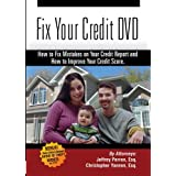Fix Your Credit DVD - How to Fix Mistakes on Your Credit Report and How to Improve Your Credit Score (Credit Repair) ~ n/a