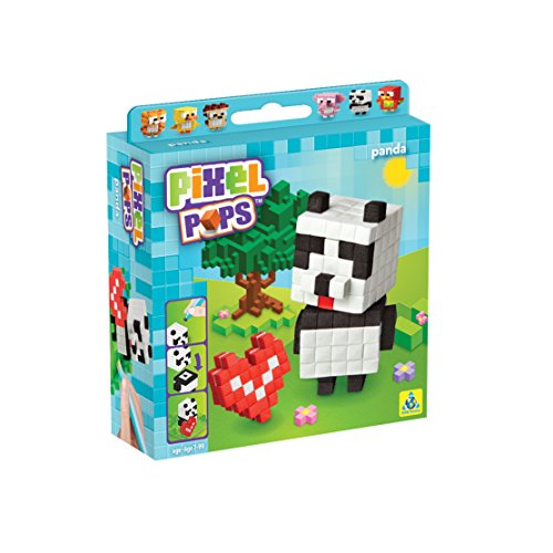 The Orb Factory Pixel Pops Panda Building Kit - 1