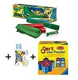 Pack Puzzle Roll + Pegamento/Conserver + Bandejas portapiezas. Tapete universal para transportar/guardar puzzles + pegamento/conserver+ bandejas portapiezas