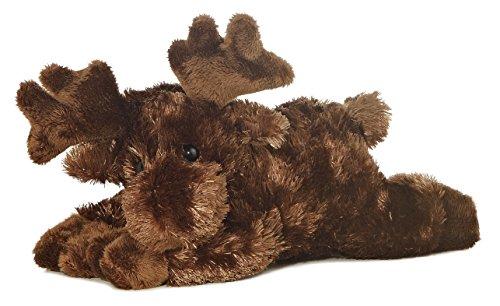 "Aurora Plush Maxamoose Moose Mini Flopsie 8"""