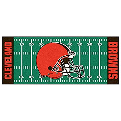 Fan Mats Fan Mat NFL Cleveland Browns Football Field Runner