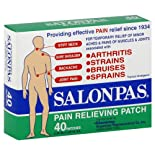 Salonpas Pain Relieving Patch, 40 ct.