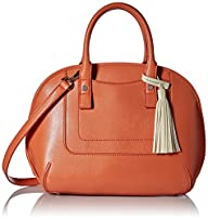 Nine West Ellisha Satchel Bag, Coral…