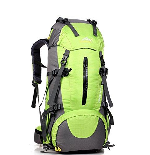 Grand voyage de capacité sac / alpinisme sacs / sac à dos en plein air / sac de sport imperméables-vert 50L