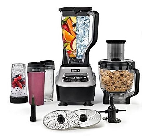 Ninja BL773CO Mega Kitchen System 1500W Food Processor Total Blender Package
