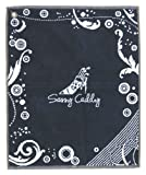 Sassy Caddy Women's Golf Towel, Navy/White