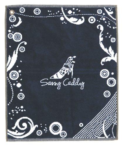 sassy-caddy-womens-golf-towel-navy-white